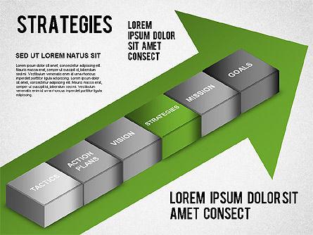 Strategy Analysis Diagram, Slide 4, 01282, Business Models — PoweredTemplate.com
