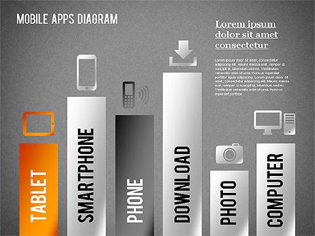 Content Share Diagram, Slide 10, 01283, Business Models — PoweredTemplate.com