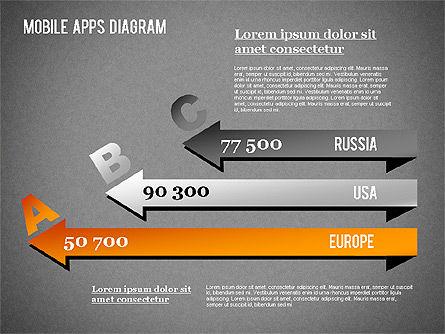 Content Share Diagram, Slide 12, 01283, Business Models — PoweredTemplate.com