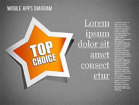 Content Share Diagram, Slide 13, 01283, Business Models — PoweredTemplate.com