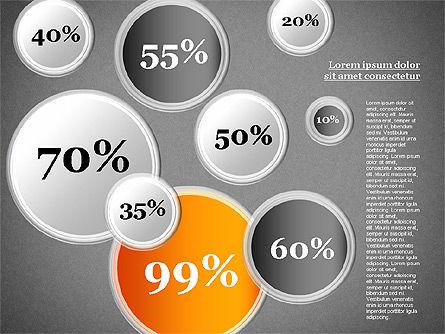 Content Share Diagram, Slide 14, 01283, Business Models — PoweredTemplate.com
