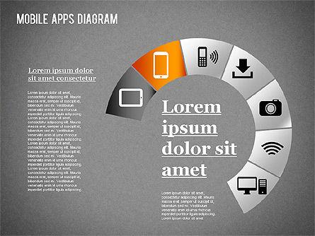Content Share Diagram, Slide 15, 01283, Business Models — PoweredTemplate.com