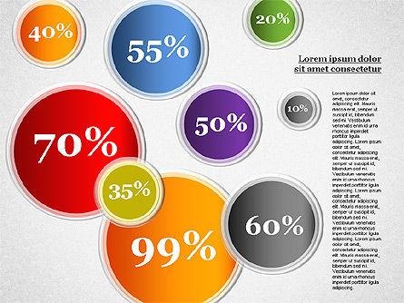 Content Share Diagram, Slide 5, 01283, Business Models — PoweredTemplate.com