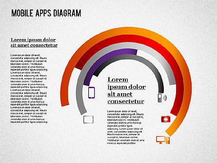 Content Share Diagram, Slide 6, 01283, Business Models — PoweredTemplate.com