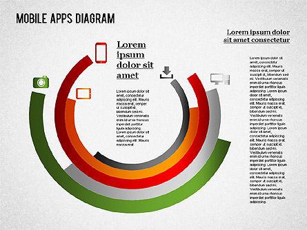 Content Share Diagram, Slide 7, 01283, Business Models — PoweredTemplate.com