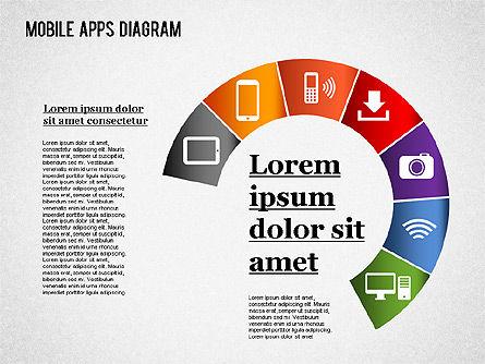 Content Share Diagram, Slide 8, 01283, Business Models — PoweredTemplate.com