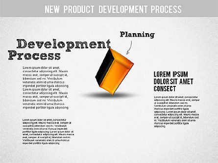 Development Stages Diagram, Slide 2, 01284, Stage Diagrams — PoweredTemplate.com