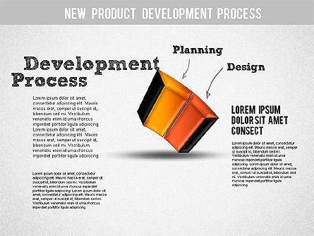 Development Stages Diagram, Slide 3, 01284, Stage Diagrams — PoweredTemplate.com
