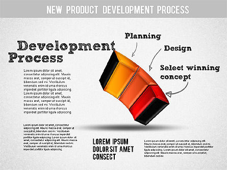 Development Stages Diagram, Slide 4, 01284, Stage Diagrams — PoweredTemplate.com