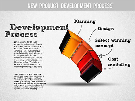 Development Stages Diagram, Slide 5, 01284, Stage Diagrams — PoweredTemplate.com