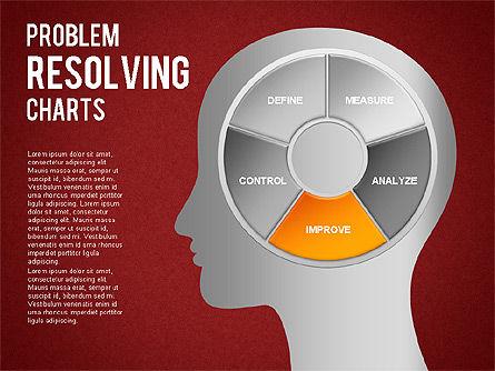 Problem Resolving Chart, Slide 14, 01287, Stage Diagrams — PoweredTemplate.com