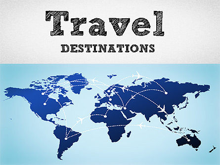 Business Models: Travel Destinations Diagram #01294