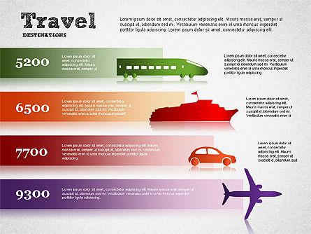 Travel Destinations Diagram, Slide 2, 01294, Business Models — PoweredTemplate.com