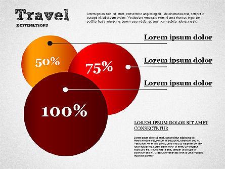 Travel Destinations Diagram, Slide 3, 01294, Business Models — PoweredTemplate.com