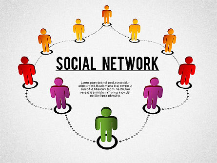 Building Social Community, 01296, Business Models — PoweredTemplate.com