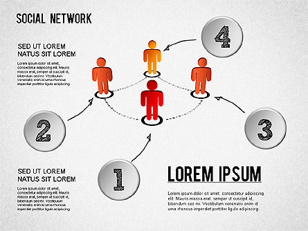 Building Social Community, Slide 4, 01296, Business Models — PoweredTemplate.com