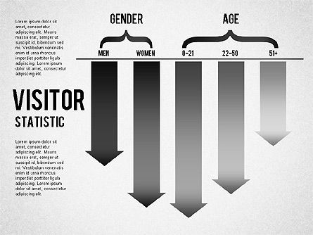 Visitor Statistics and Graphs, Slide 2, 01297, Business Models — PoweredTemplate.com