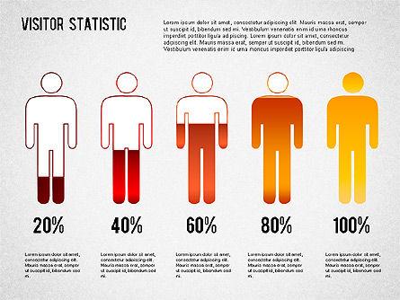 Visitor Statistics and Graphs, Slide 3, 01297, Business Models — PoweredTemplate.com