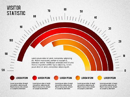 Visitor Statistics and Graphs, Slide 4, 01297, Business Models — PoweredTemplate.com