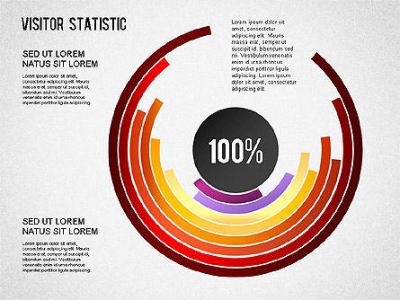 Visitor Statistics and Graphs, Slide 5, 01297, Business Models — PoweredTemplate.com