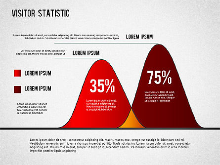 Visitor Statistics and Graphs, Slide 6, 01297, Business Models — PoweredTemplate.com