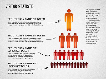 Visitor Statistics and Graphs, Slide 9, 01297, Business Models — PoweredTemplate.com