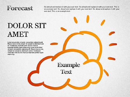 Forecast Shapes, Slide 3, 01298, Shapes — PoweredTemplate.com