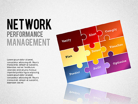 Stage Diagrams: Network Performance Management #01301