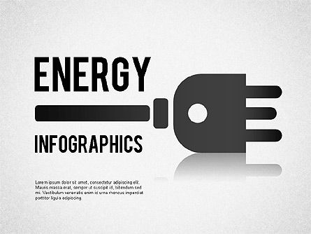 Energy Infographics for PowerPoint, 01306, Shapes — PoweredTemplate.com