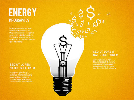 Energy Infographics for PowerPoint, Slide 2, 01306, Shapes — PoweredTemplate.com
