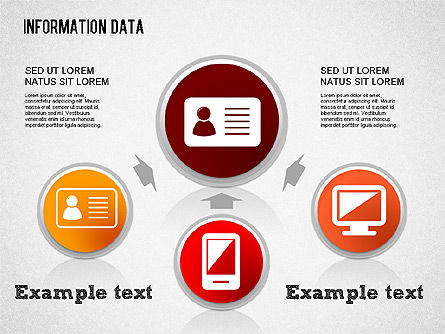 Information Data Management, 01307, Process Diagrams — PoweredTemplate.com