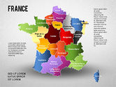Presentation Templates: France Presentation Diagram #01313