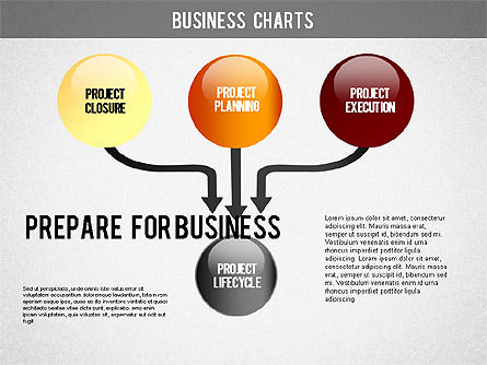 Project Life Cycle Diagram, Slide 3, 01316, Business Models — PoweredTemplate.com