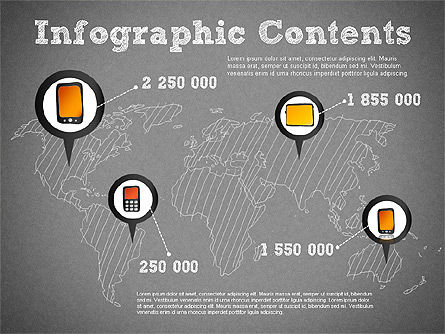 Sales and Distribution Infographics, Slide 13, 01322, Business Models — PoweredTemplate.com