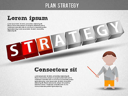 Strategy and Planning Crossword, Slide 10, 01324, Stage Diagrams — PoweredTemplate.com