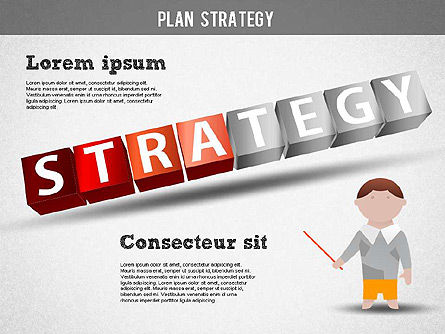 Strategy and Planning Crossword, Slide 11, 01324, Stage Diagrams — PoweredTemplate.com