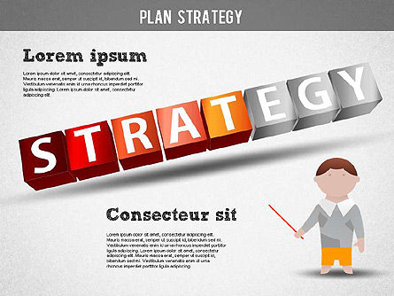 Strategy and Planning Crossword, Slide 12, 01324, Stage Diagrams — PoweredTemplate.com