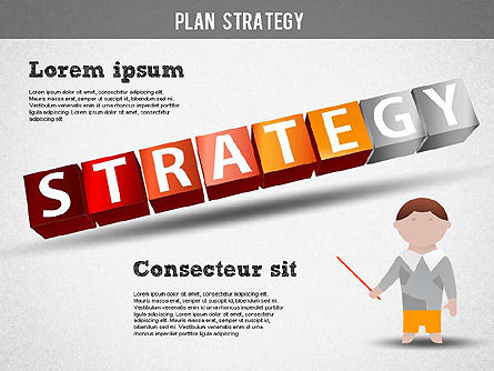 Strategy and Planning Crossword, Slide 13, 01324, Stage Diagrams — PoweredTemplate.com