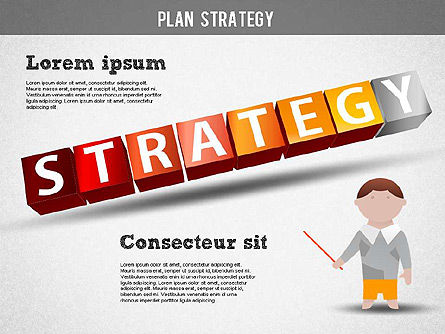 Strategy and Planning Crossword, Slide 14, 01324, Stage Diagrams — PoweredTemplate.com