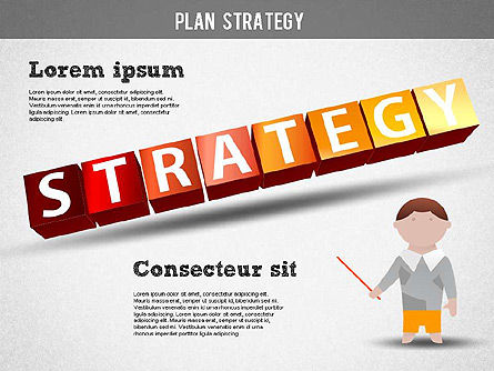 Strategy and Planning Crossword, Slide 15, 01324, Stage Diagrams — PoweredTemplate.com