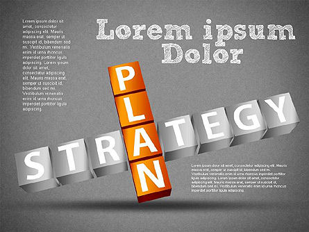 Strategy and Planning Crossword, Slide 16, 01324, Stage Diagrams — PoweredTemplate.com