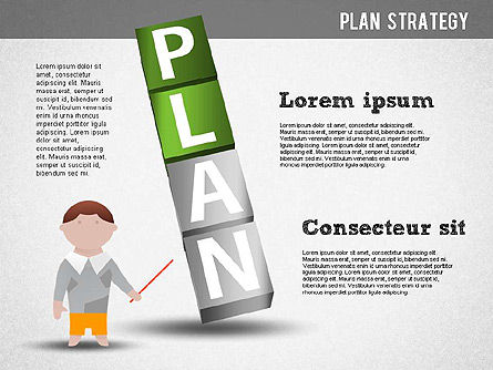 Strategy and Planning Crossword, Slide 5, 01324, Stage Diagrams — PoweredTemplate.com