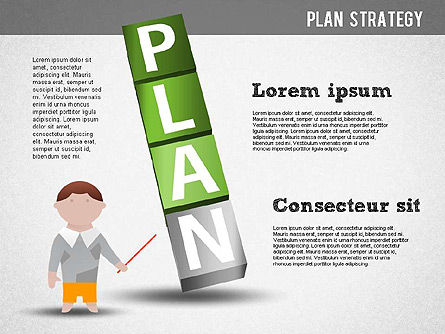 Strategy and Planning Crossword, Slide 6, 01324, Stage Diagrams — PoweredTemplate.com
