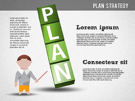 Strategy and Planning Crossword, Slide 7, 01324, Stage Diagrams — PoweredTemplate.com