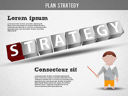 Strategy and Planning Crossword, Slide 8, 01324, Stage Diagrams — PoweredTemplate.com