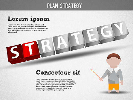 Strategy and Planning Crossword, Slide 9, 01324, Stage Diagrams — PoweredTemplate.com