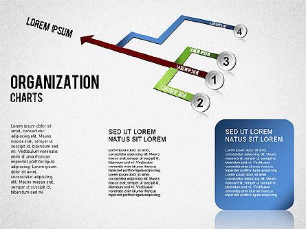 Organizational Chart, Slide 4, 01327, Organizational Charts — PoweredTemplate.com