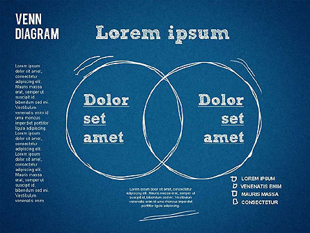 Hand Drawn Venn Diagram, Slide 10, 01332, Business Models — PoweredTemplate.com