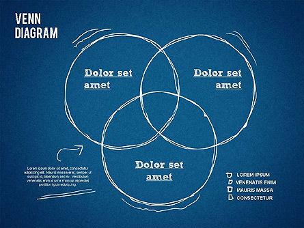 Hand Drawn Venn Diagram, Slide 13, 01332, Business Models — PoweredTemplate.com