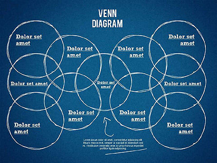 Hand Drawn Venn Diagram, Slide 16, 01332, Business Models — PoweredTemplate.com